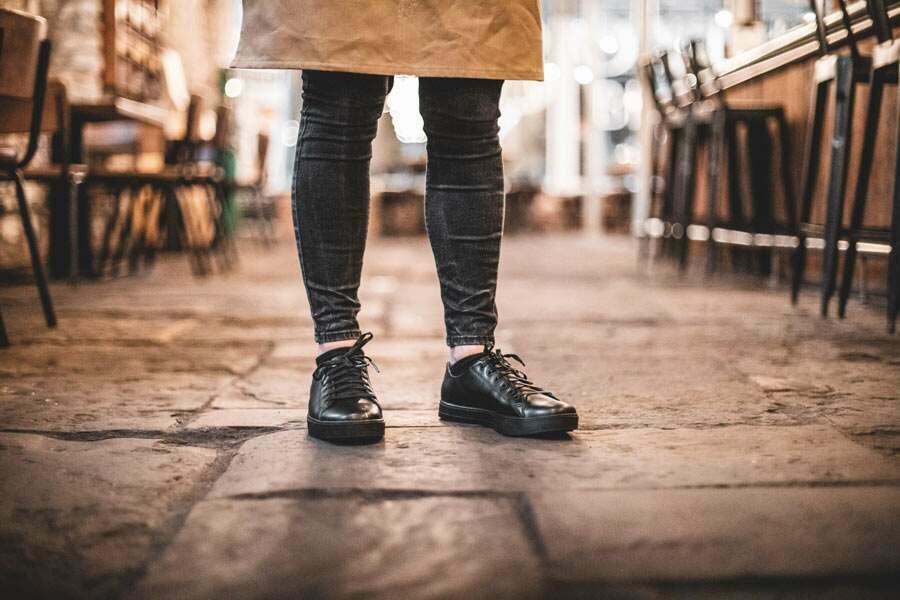 Taille 36 Noir Shoes for Crews 39362-36//3 OLD SCHOOL LOW RIDER IV NOIR FEMMES Chaussures antid/érapantes pour femmes